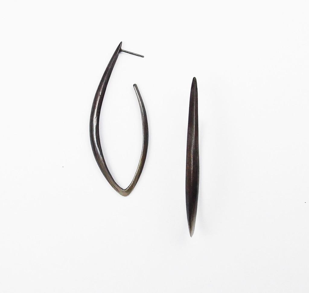 Silver Dagger Earring