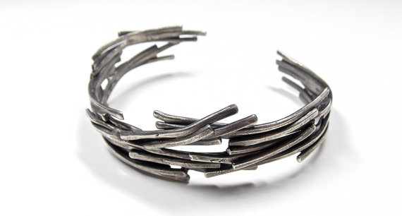Sterling Silver Stackable Cuff Unisex